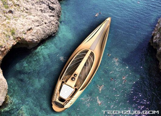 Ultra Modern Cronos Yacht