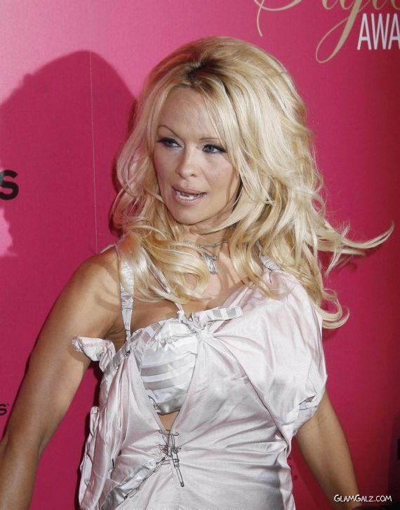 Pamela Anderson at Hollywood Style Awards
