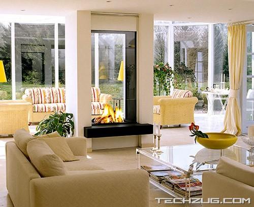 Stunning Hi-Tech Fireplaces