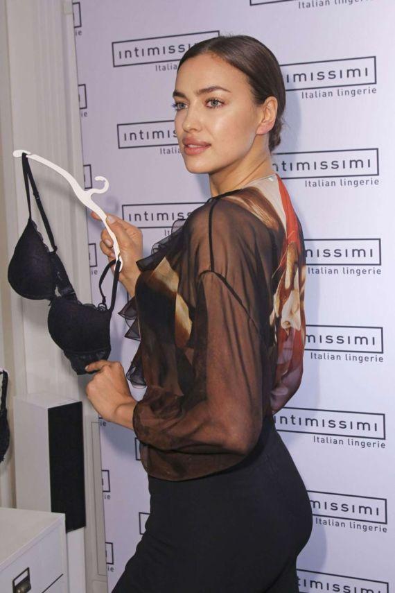 Irina Shayk Promoted The Perfect B Book In Munich