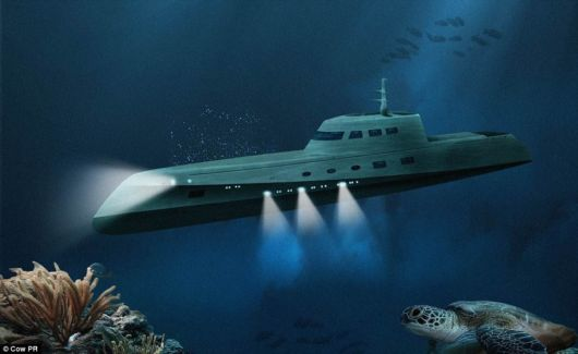 Valentine's Day Submarine Tour