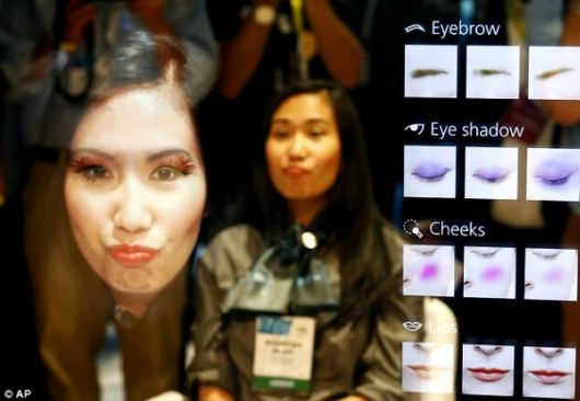 Virtual Mirror That Gives Advice And Makeup Looks For Every Skin