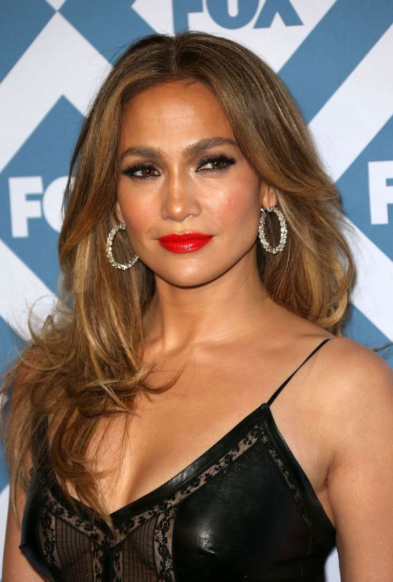Jennifer Lopez At Fox All-Star Party 2014