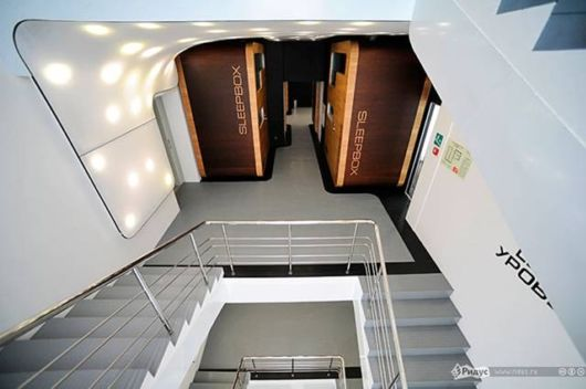 Amazing Capsule Hotel In Moscow
