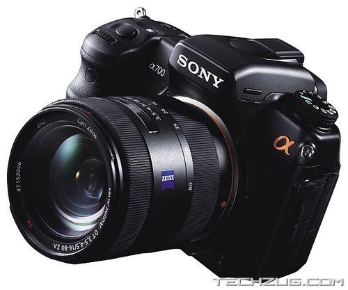 Sony's New DSLR 700 Camera
