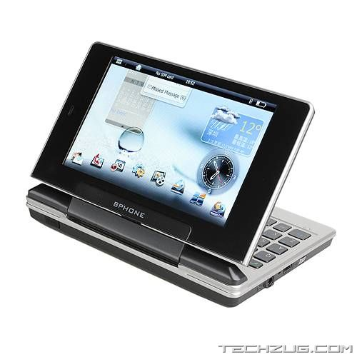 BPhone Hybrid Netbook and Smartphone
