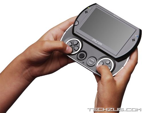 Sony's New Play Station Portable Go