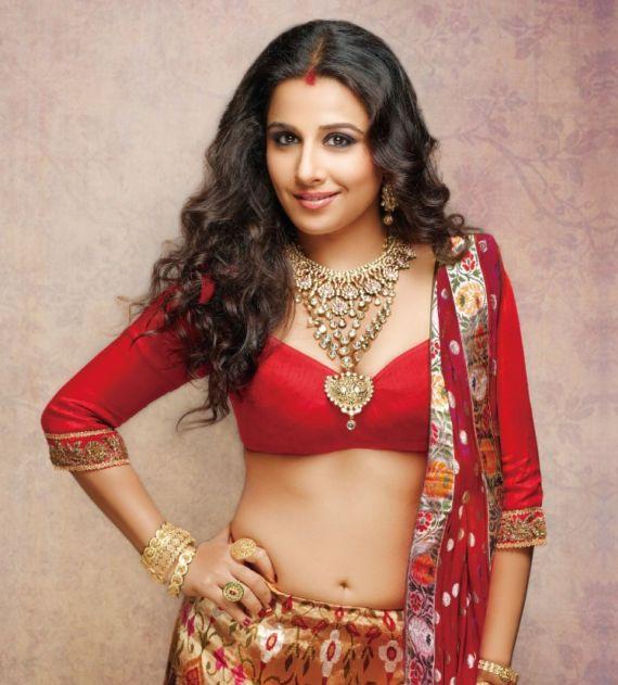 Vidya Balan Shoots For Hi BLITZ Magazine