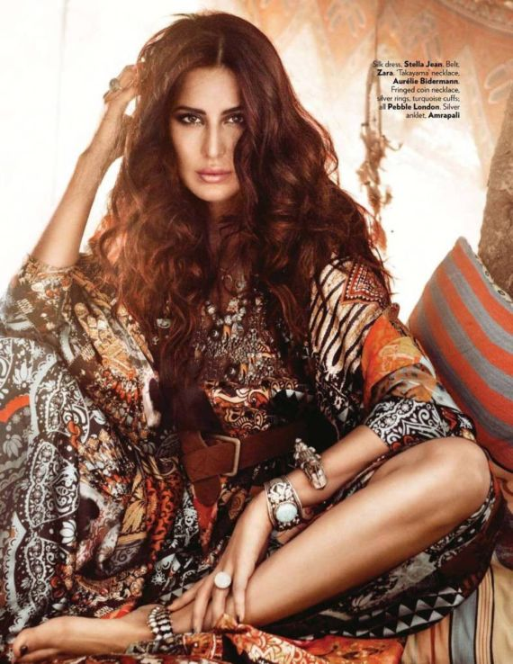 Katrina Kaif On Vogue India Cover