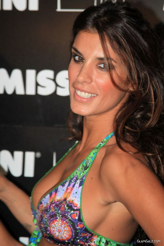 Elisabetta Canalis At Miss Bikini Fashion Show
