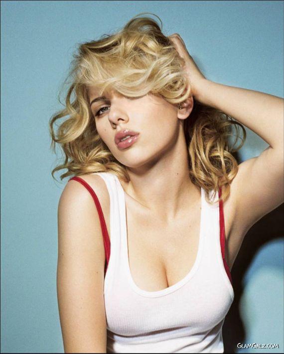 Scarlett Johansson For Exclusive Esquire Shoot
