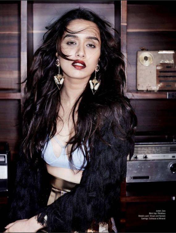 Shradhha Kapoor Shoots For Filmfare June 2016