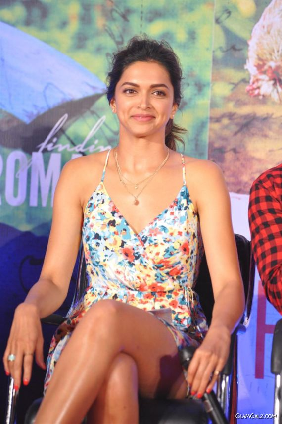Deepika Padukone At A Song Launch