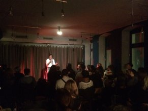 The best English speaking comedians at 800A Berlin