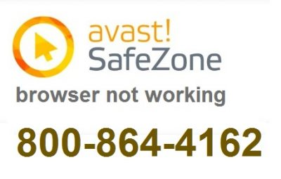 avast safezone browser not working