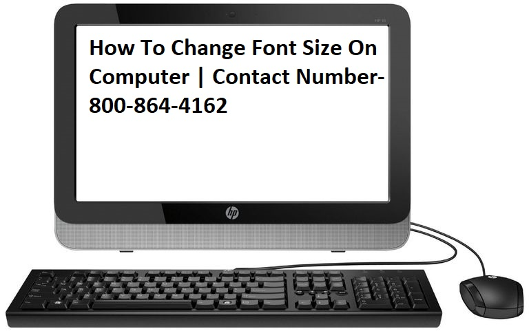 Change Font Size On Computer