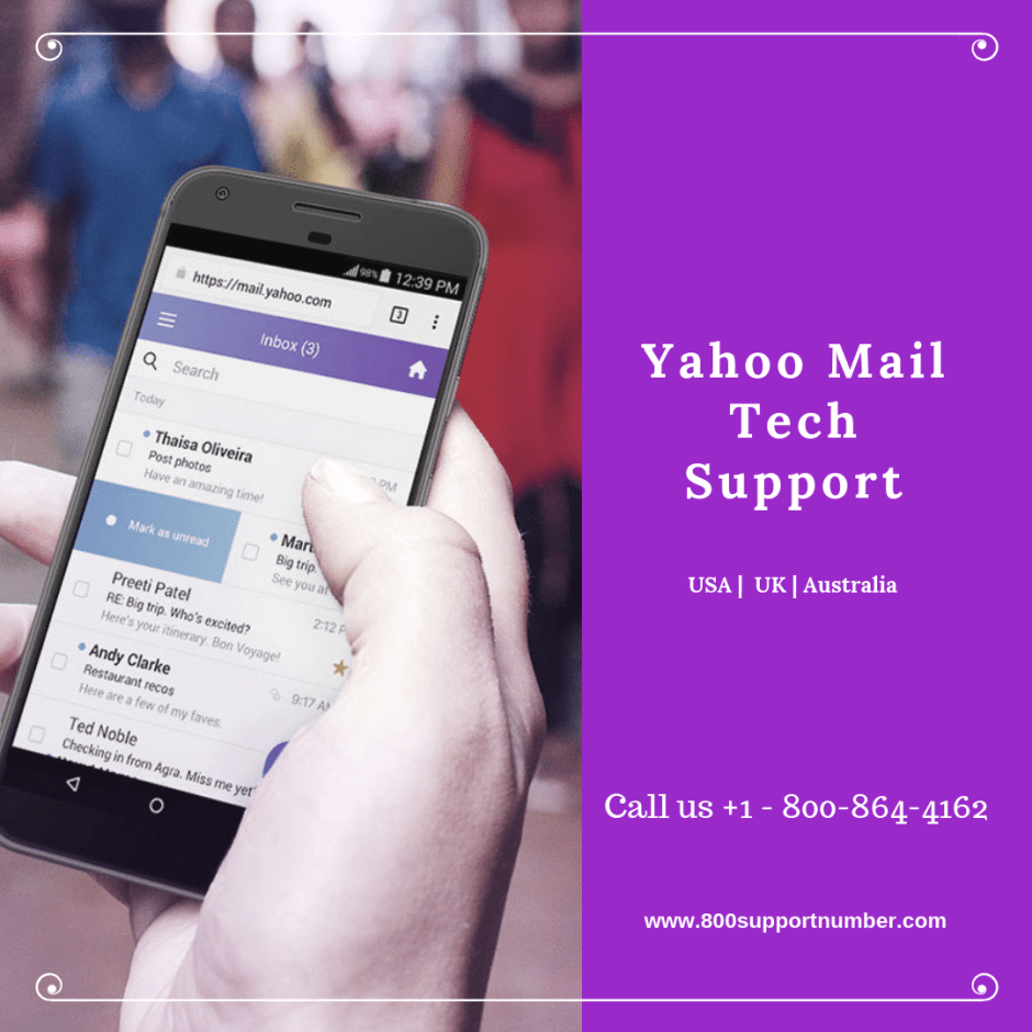 Yahoo mail error message connection to server failed