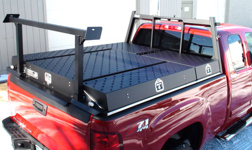 pickup truck bed slip on storage