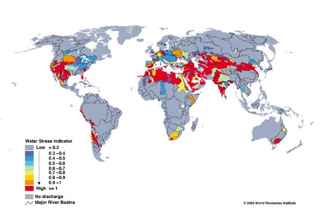 Global Water Stress