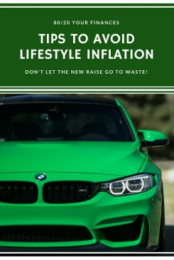 Tips to avoid lifestyle inflation after you get a raise! Your personal finances will thank you!