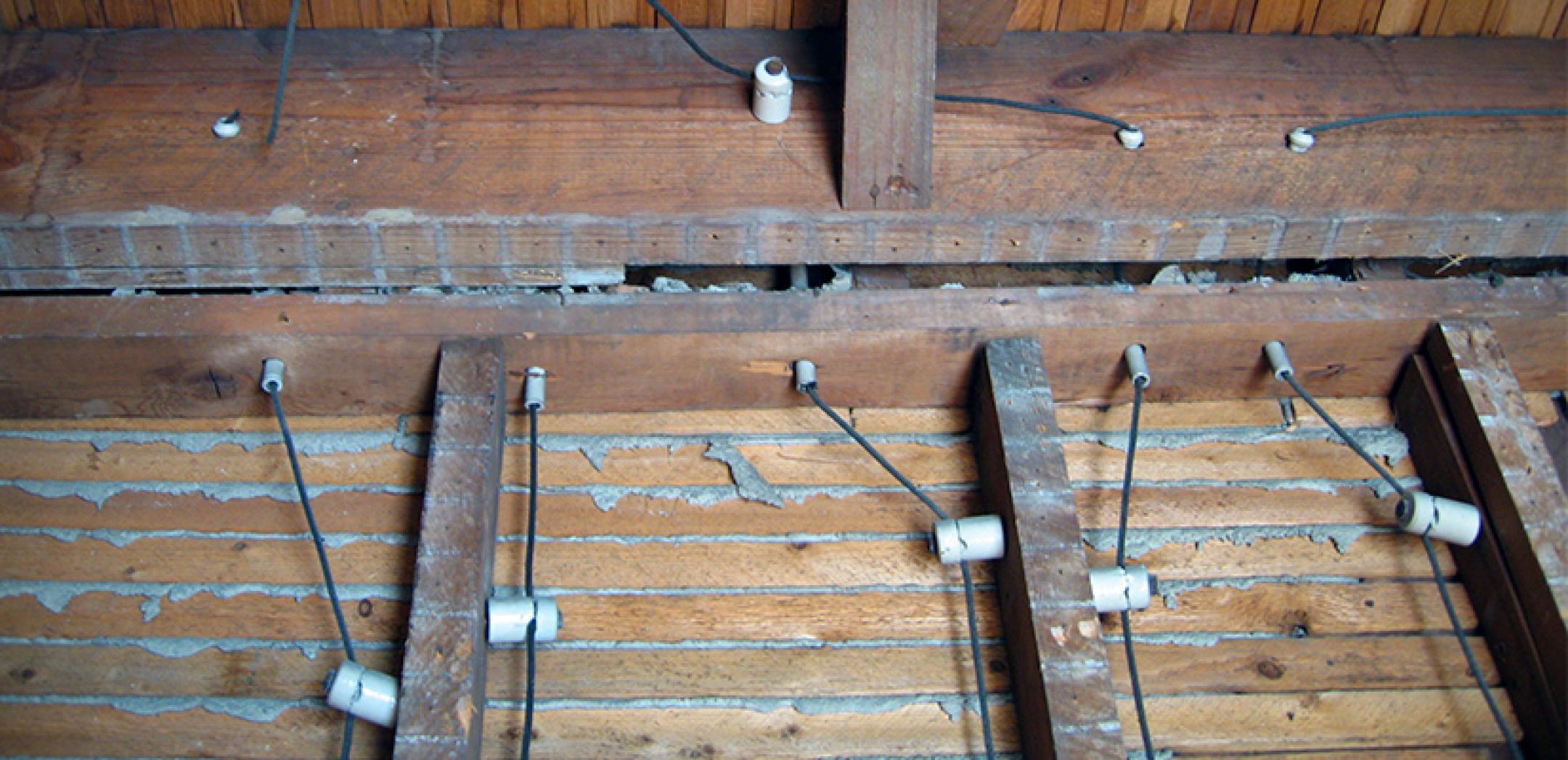 knob and tube wiring
