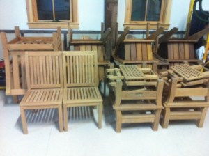 preserving outdoor wood furniture