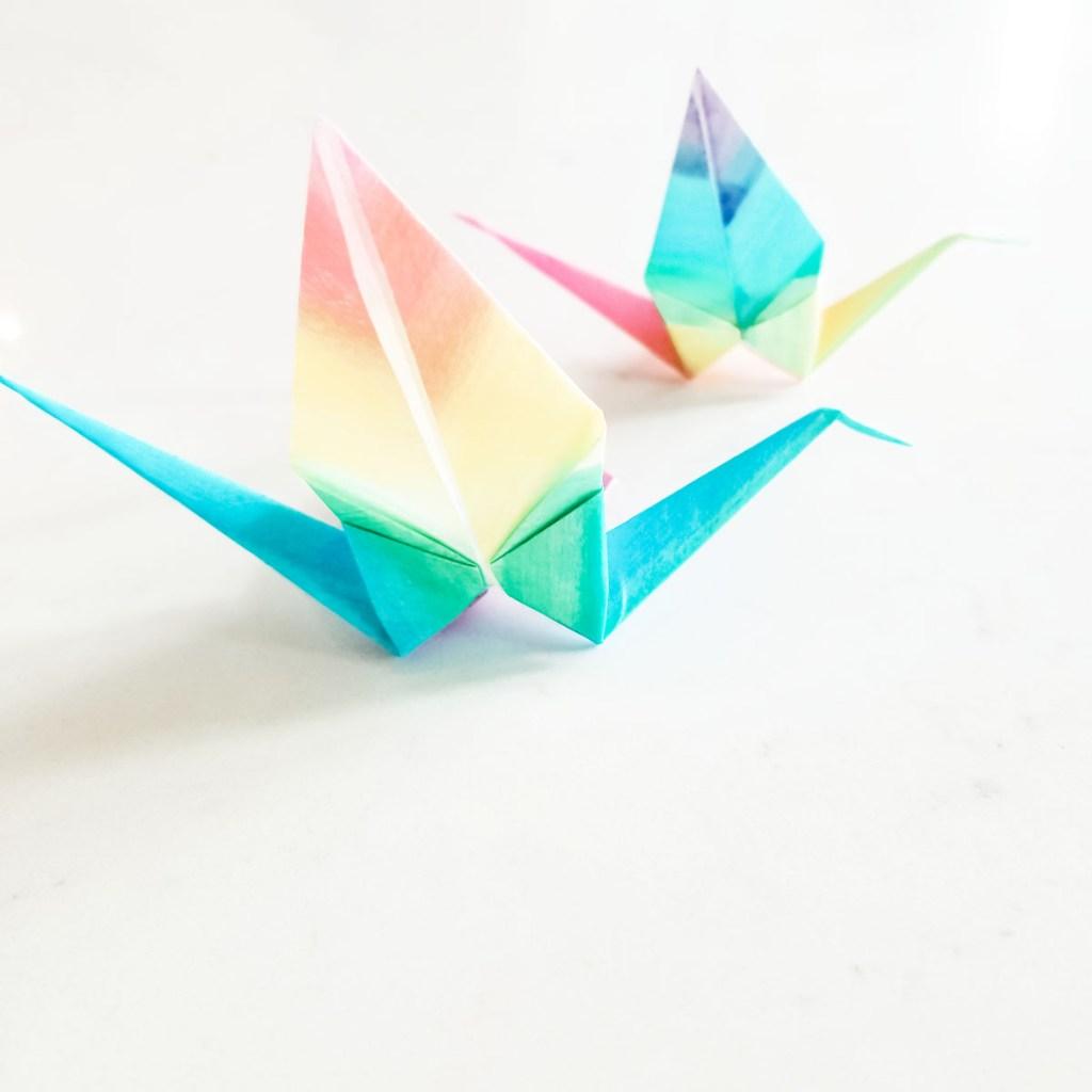 Dissolving Origami
