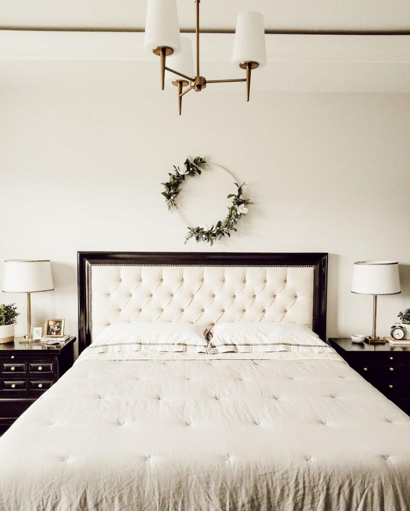 master bedroom farmhouse bedding