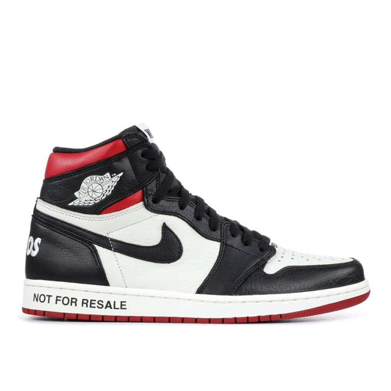 Not For Resale Black Red 1's