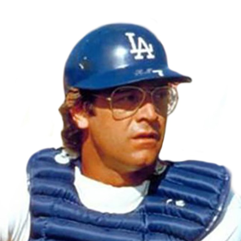 Steve Yeager Dodgers Face