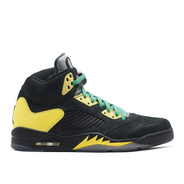 Oregon Black Yellow 5's