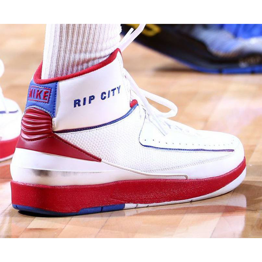 Rip City White Red 2's
