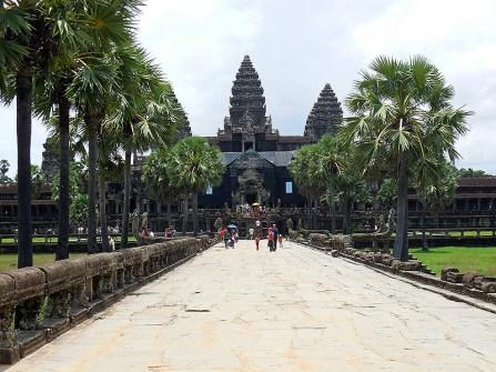 On the way to Angkor