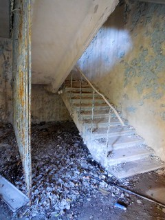 Decaying stairwell