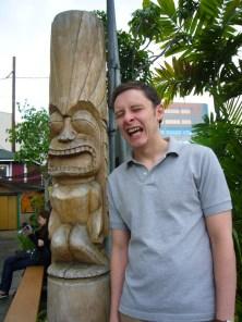 Me and my tiki brother