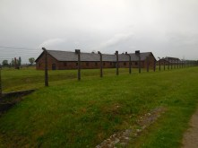 One of the remaining buildings at Birkenau