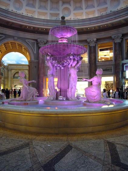 Venus Fort fountain