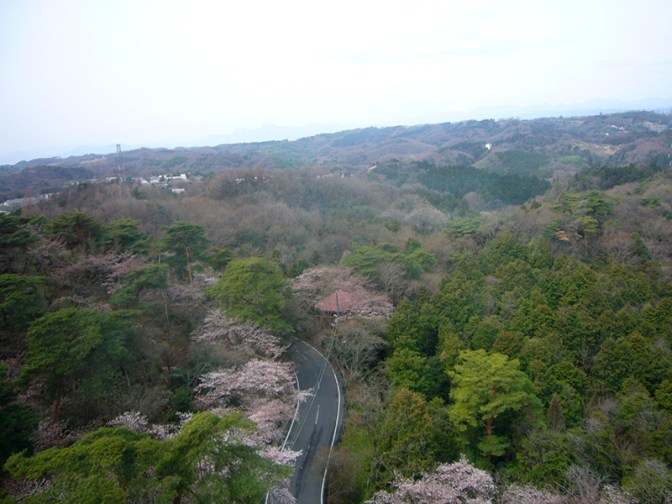 View from Takasaki Kannon