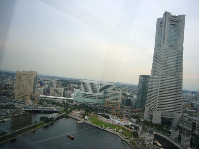 Yokohama bay skyline