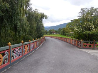 The king's road to the dzong