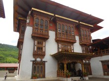 DTraditional dzong decoration