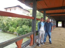 Me and Shayne pose for our final meaningful image in Bhutan