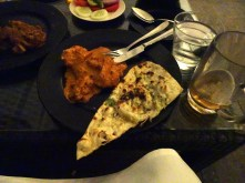From Spice Terrace at the JW Marriott - nice but pricey
