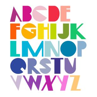 Type Design: Blümenhaus