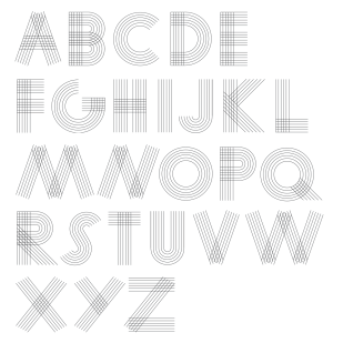 Type design: Nile Rodgers