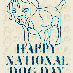 Poster for National Dog Day