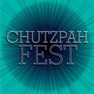 """Print Materials for """"Chutzpah Fest"""" at the Museum of Jewish Heritage"""