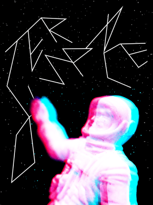 """""""Outer Space"""" Poster for Creative Action Network"""