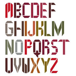 Type Design: Ares