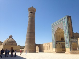 Mosque & minaret of Bukhara